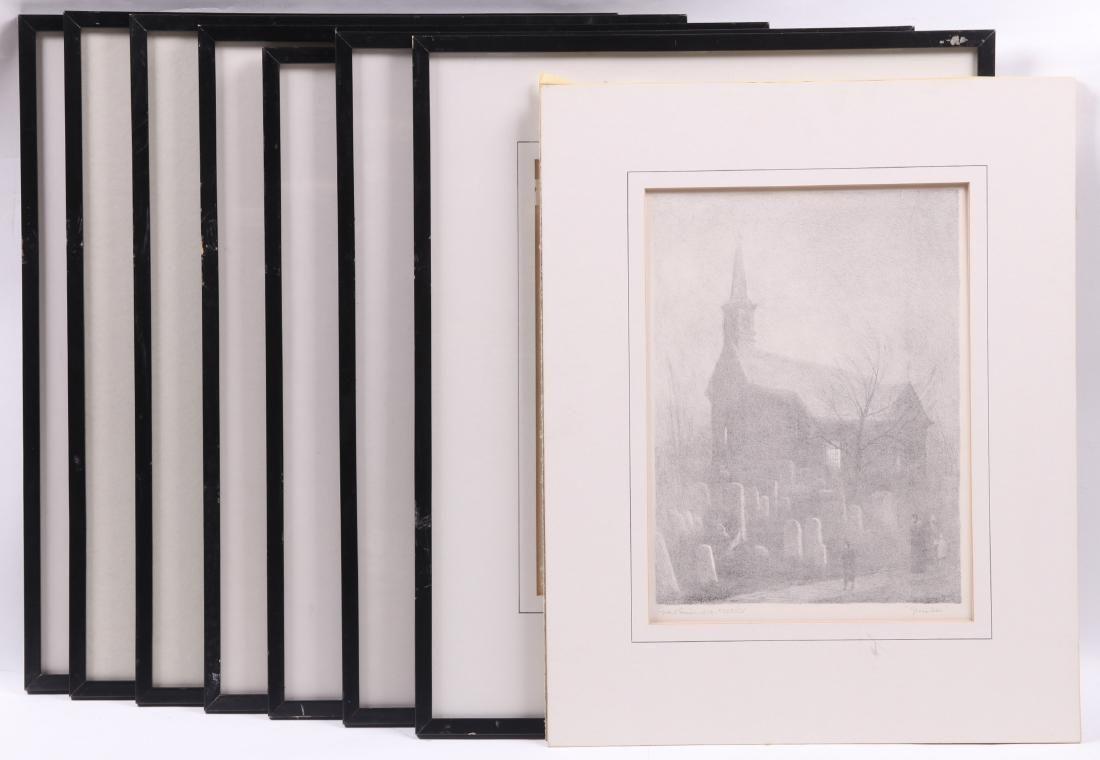Grant Miles Simon (American 1887-1967) Lithographs