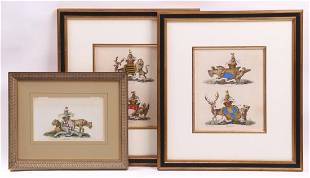 Charles Catton Brit 17281798 Armorial Engravings