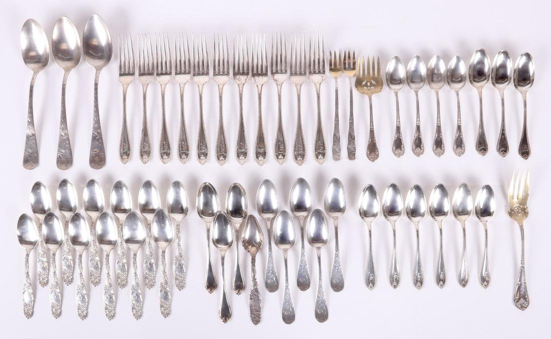 Assorted Sterling Silver Flatware by Towle