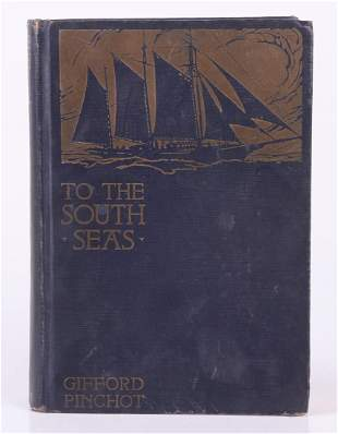 Book To the South Seas Gifford Pinchot Letter