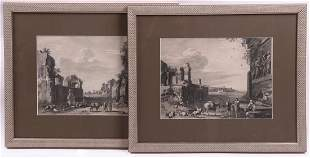 Two Engravings After Bartholomeus Breenbergh