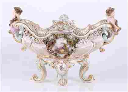 A Monumental Meissen Centerpiece