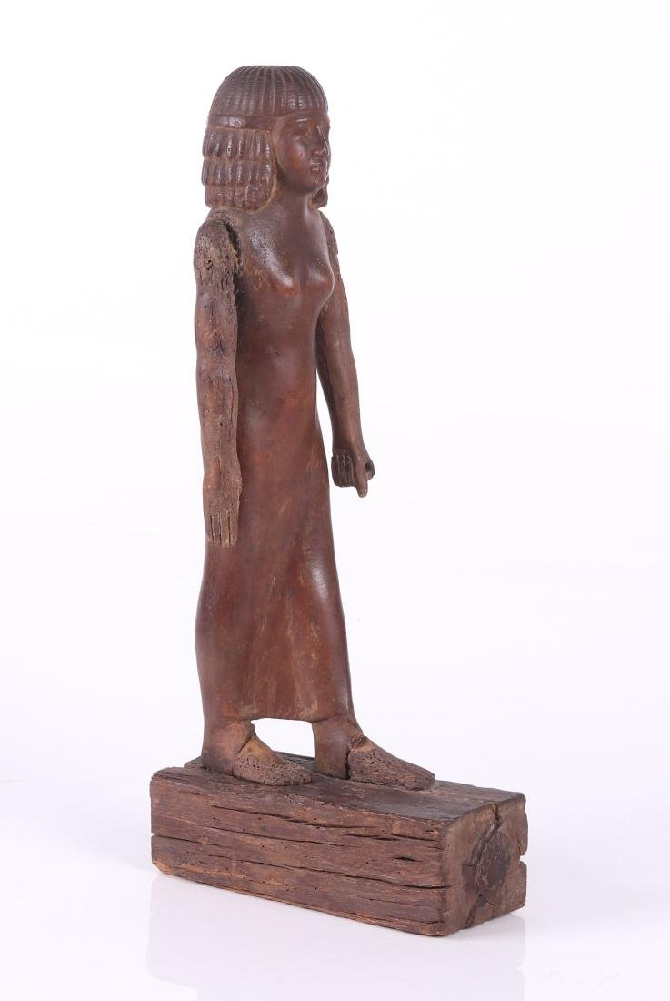 An Ancient Egyptian Wooden Figure