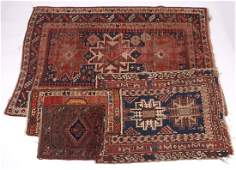 RugCarpet Two Rugs and Two Bag Faces