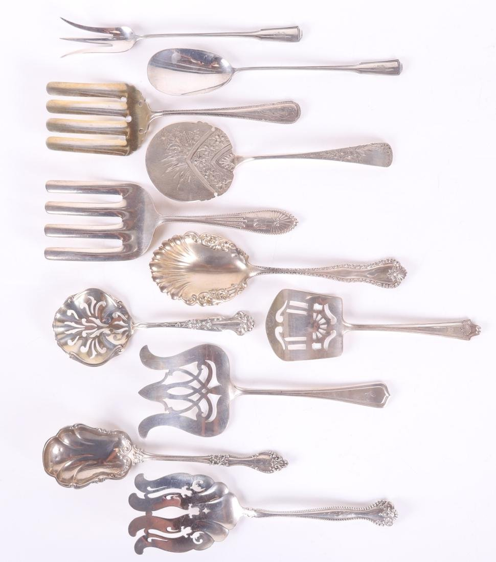 Sterling Silver Asparagus, Pancake, Other Servers
