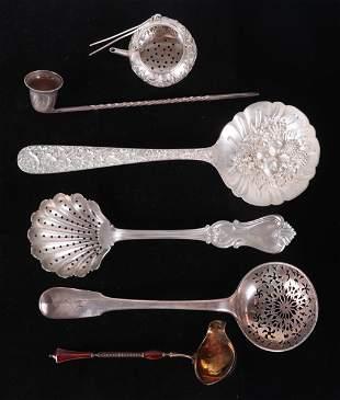 Sterling Silver, Georgian, Enameled, etc.