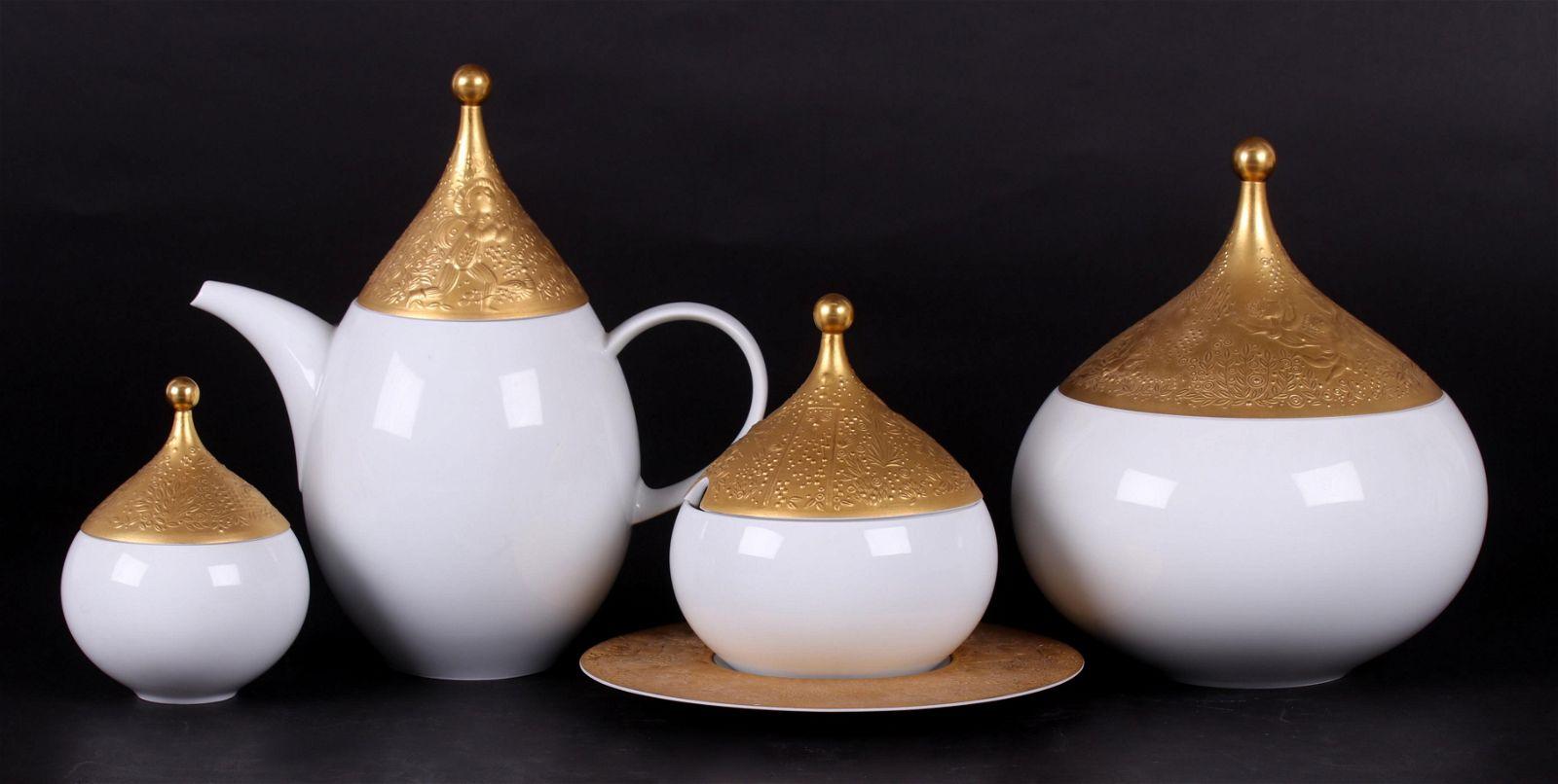 Bjorn Wiinblad, Rosenthal, Magic Flute Tea Set