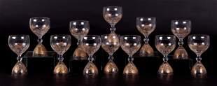 Bjorn Wiinblad, Rosenthal, Magic Flute Wine Glasses