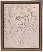 Pablo Picasso (Spanish 1881-1973) Signed Lithograph