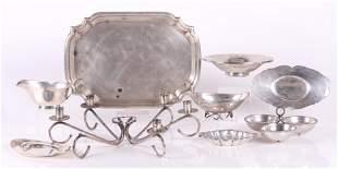 Sterling Hollowware Including Alfredo Sciarrotta