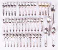 Assorted Sterling Silver Spoons by Gorham