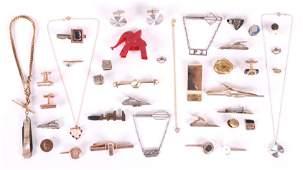 10k and Costume Jewelry Cufflinks Etc