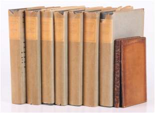 Book Laurence Sternes Works and an 1809 Volume