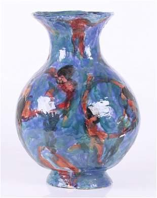 Frank Hyder American b 1951 Art Pottery Vase