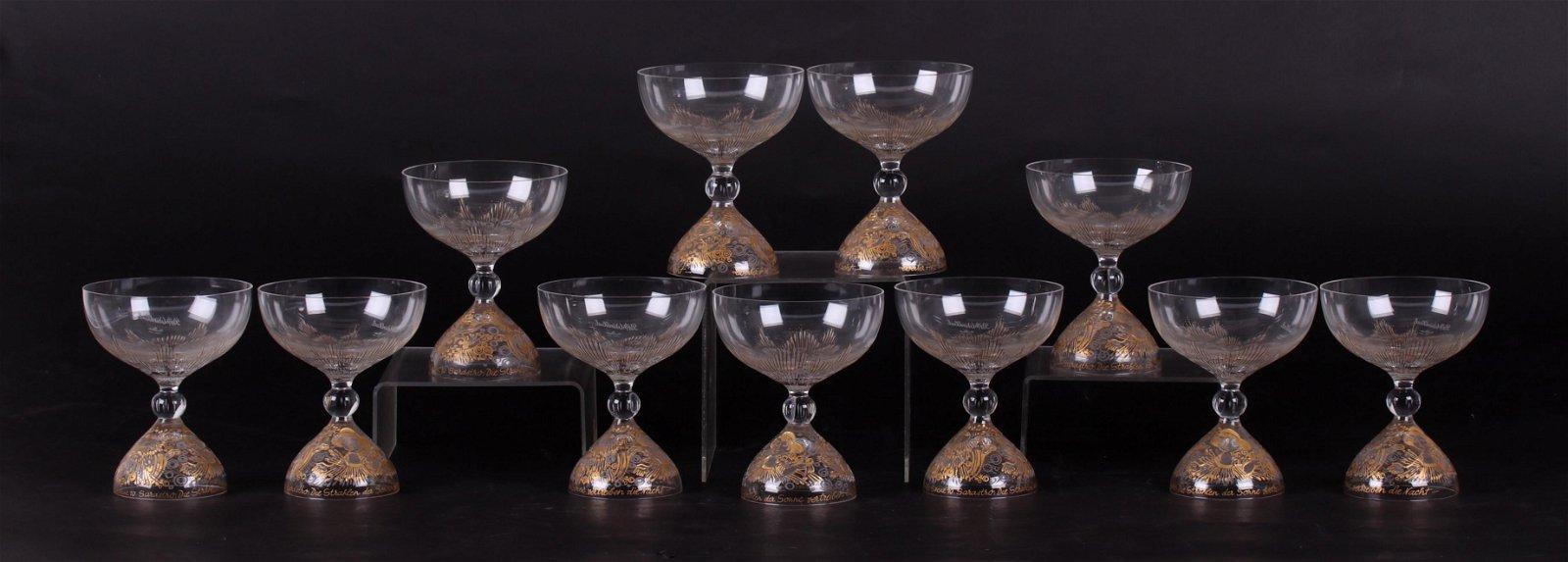 Bjorn Wiinblad, Rosenthal, Magic Flute Champagnes