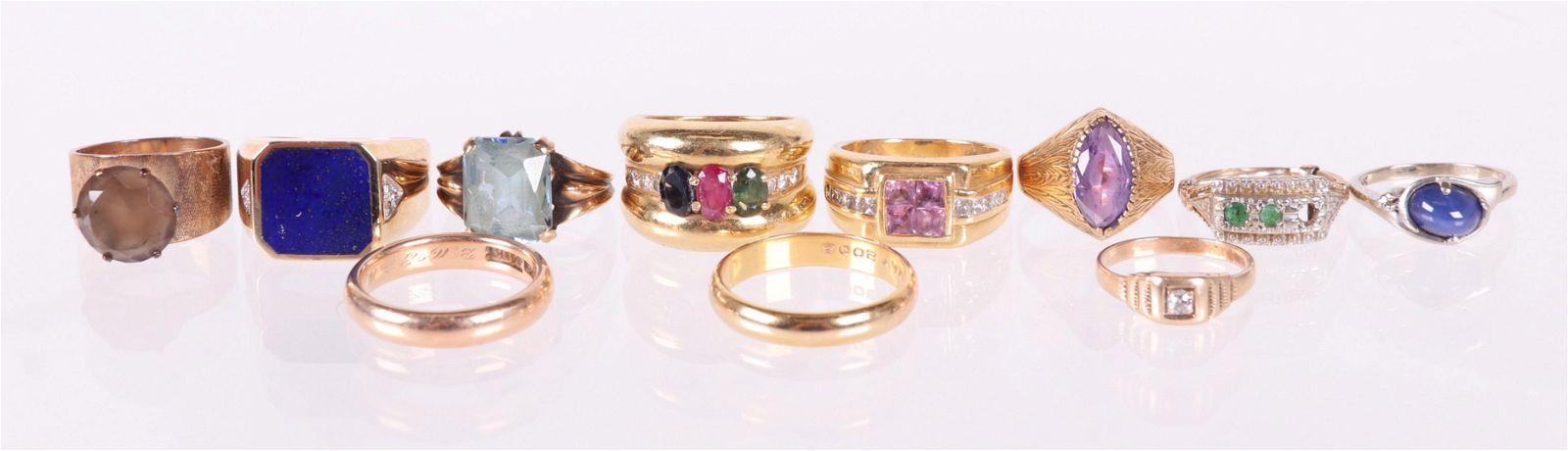 Estate Jewelry, Group of 14k Gold Rings