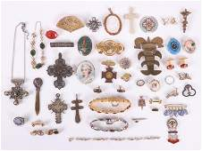 A Group of Estate Costume Jewelry
