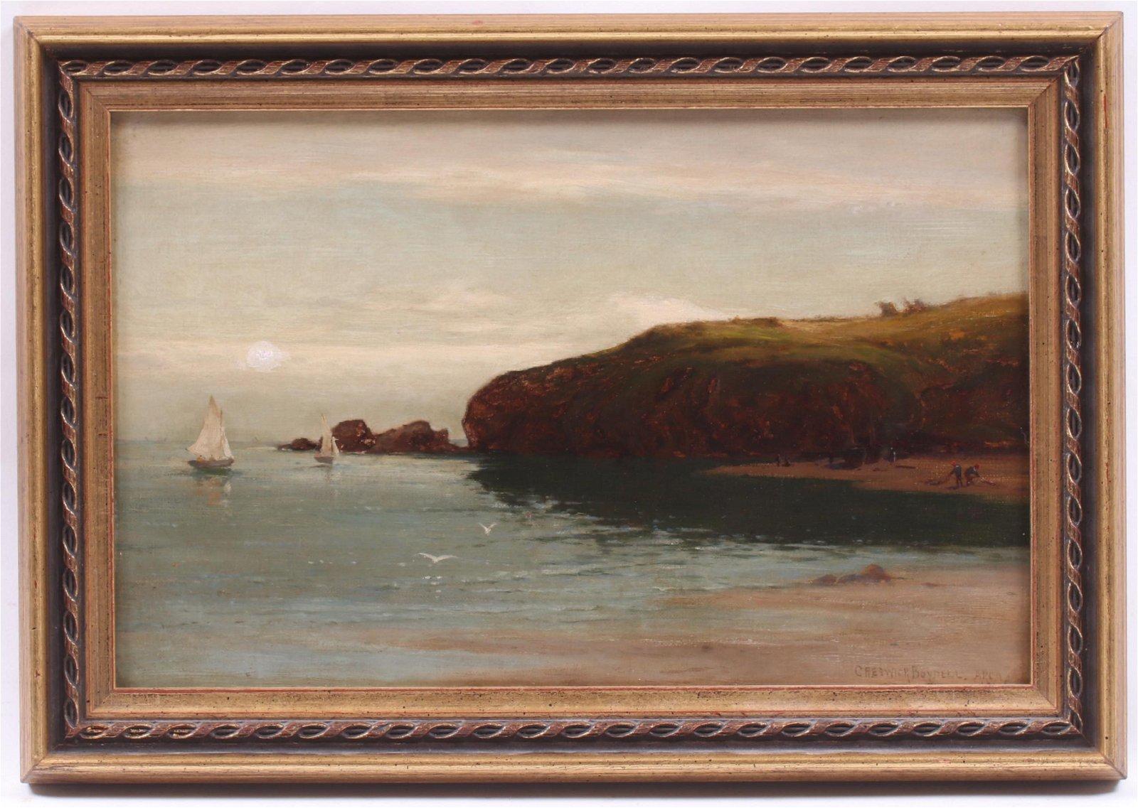 Creswick Boydell (c.1889-1916) Oil on Canvas