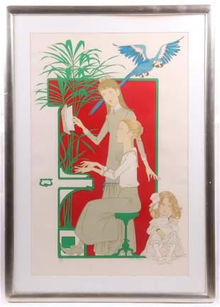 Philippe Henri Noyer French 19171985 Serigraph