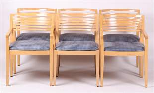 Six Chairs Linda and Joseph Ricchio for Knoll