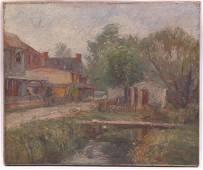 Antonio Martino (1902 - 1988) Oil on Canvas