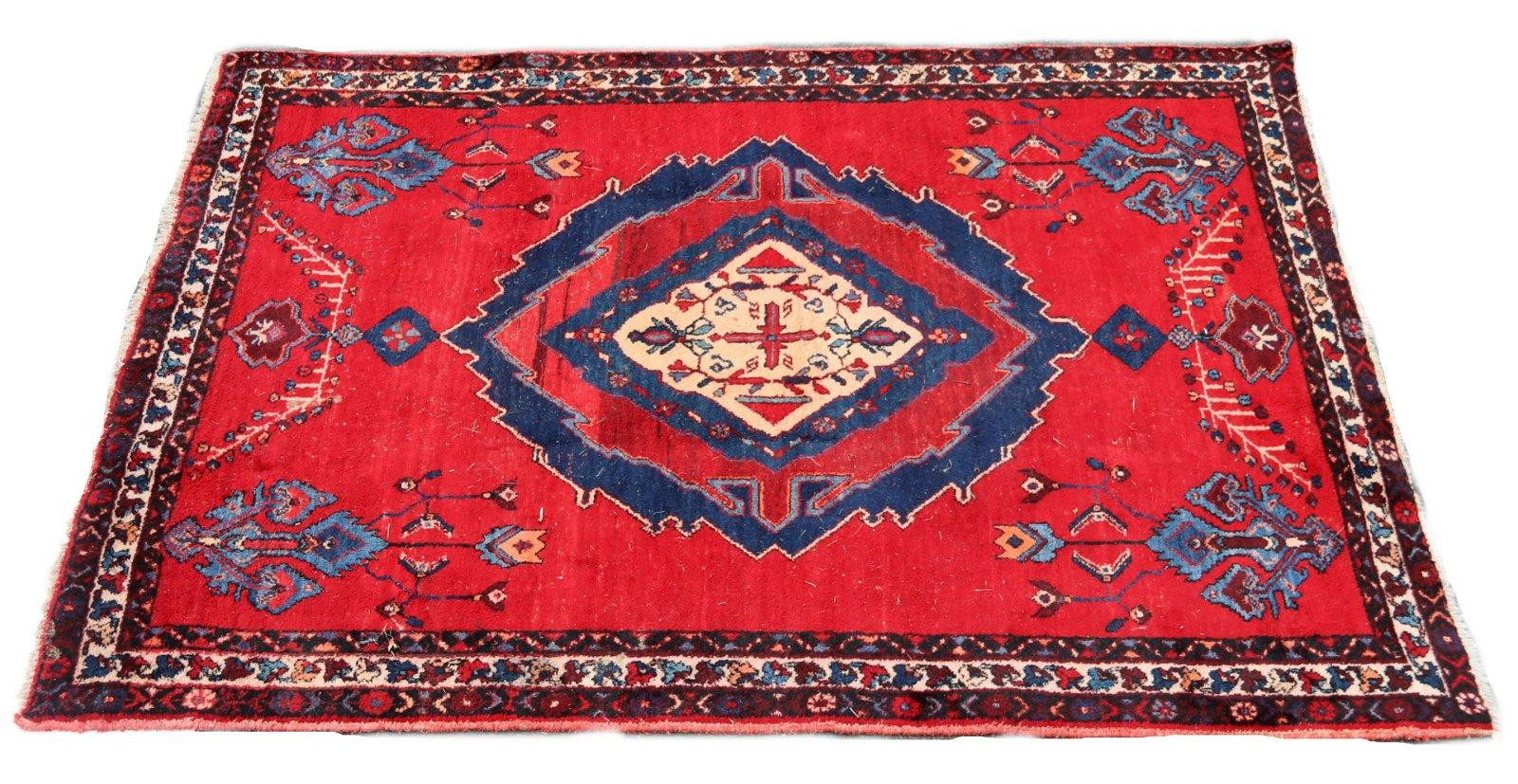 Rug/Carpet, Three Postwar Iranian Village Examples
