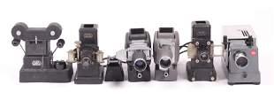 Leitz Five Slide Film Projectors Slide Copier