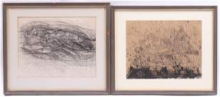 Stewart Paley Canadian b 1940 Two Sketches