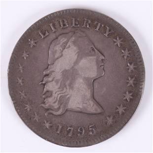 1795 Flowing Hair Silver US Dollar Coin