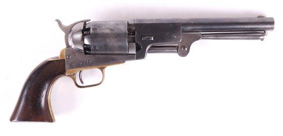 A Colt Third Model Dragoon Revolver