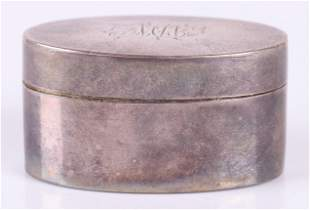 A George III Sterling Nutmeg Grater