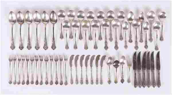 Assorted Sets of Sterling Silver Flatware