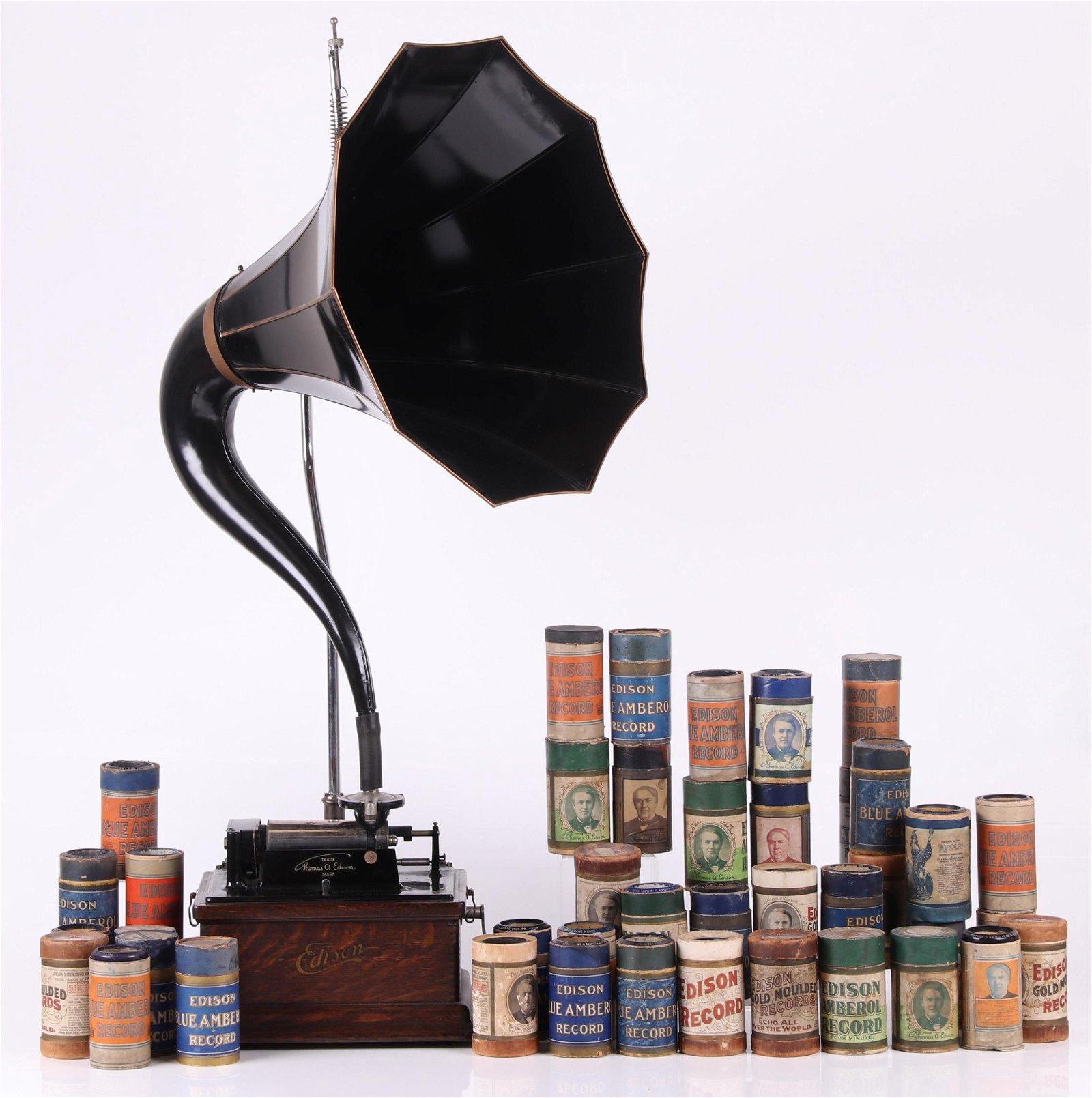 Edison Fireside Phonograph, Cylinders