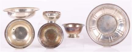 A Group of Silver Hollowware
