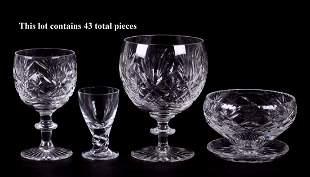 Webb Corbett and Other Glass Stemware