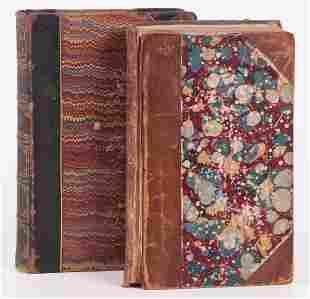 Books First Half 19th Century Bunyan and Thackeray