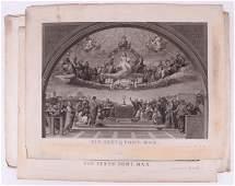 Giovanni Volpato (Ital. 1735-1803) Three Engravings