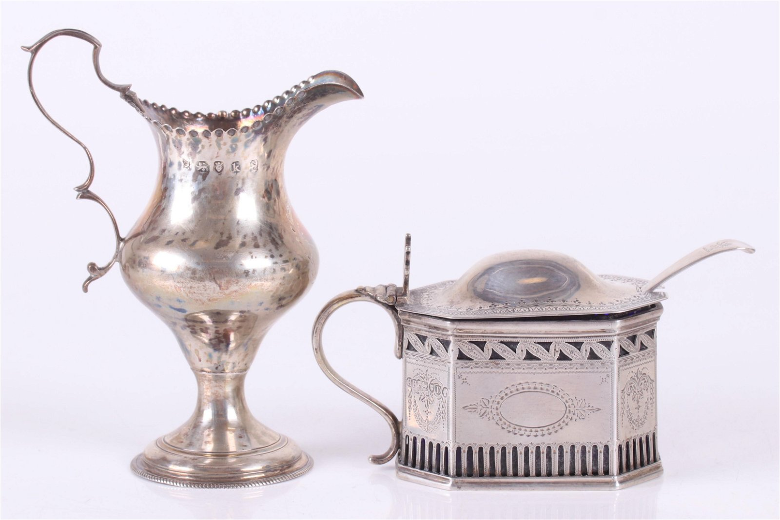 Sterling Silver Tableware, Georgian and Victorian