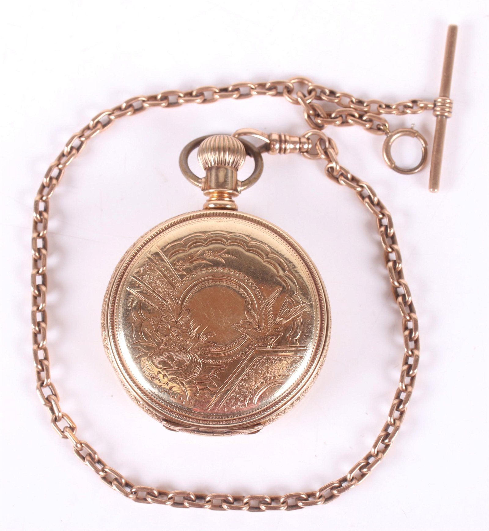 14k Gold Pocket Watch by Elgin