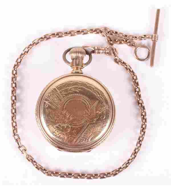 14k Gold Pocket Watch by Elgin