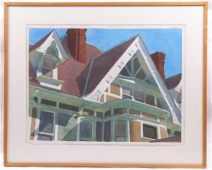 David Dewey (American b. 1946) Watercolor