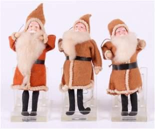 Three German Christmas Ornaments