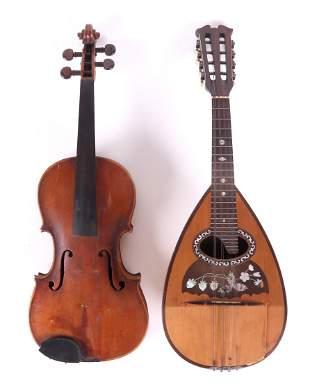 Violin and Fernando Del-Perugia Mandolin