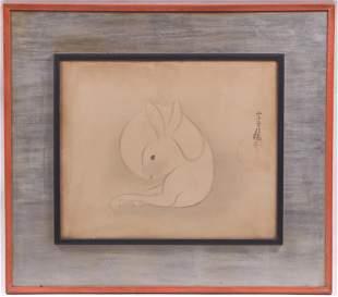 Woodblock Print, Signed Tawaraya Sotatsu