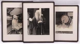 Three Mid 20th Century Japanese Photographs