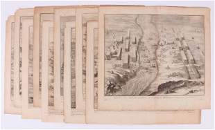 """Ten Engravings from Caesar's """"Gallic Wars"""""""