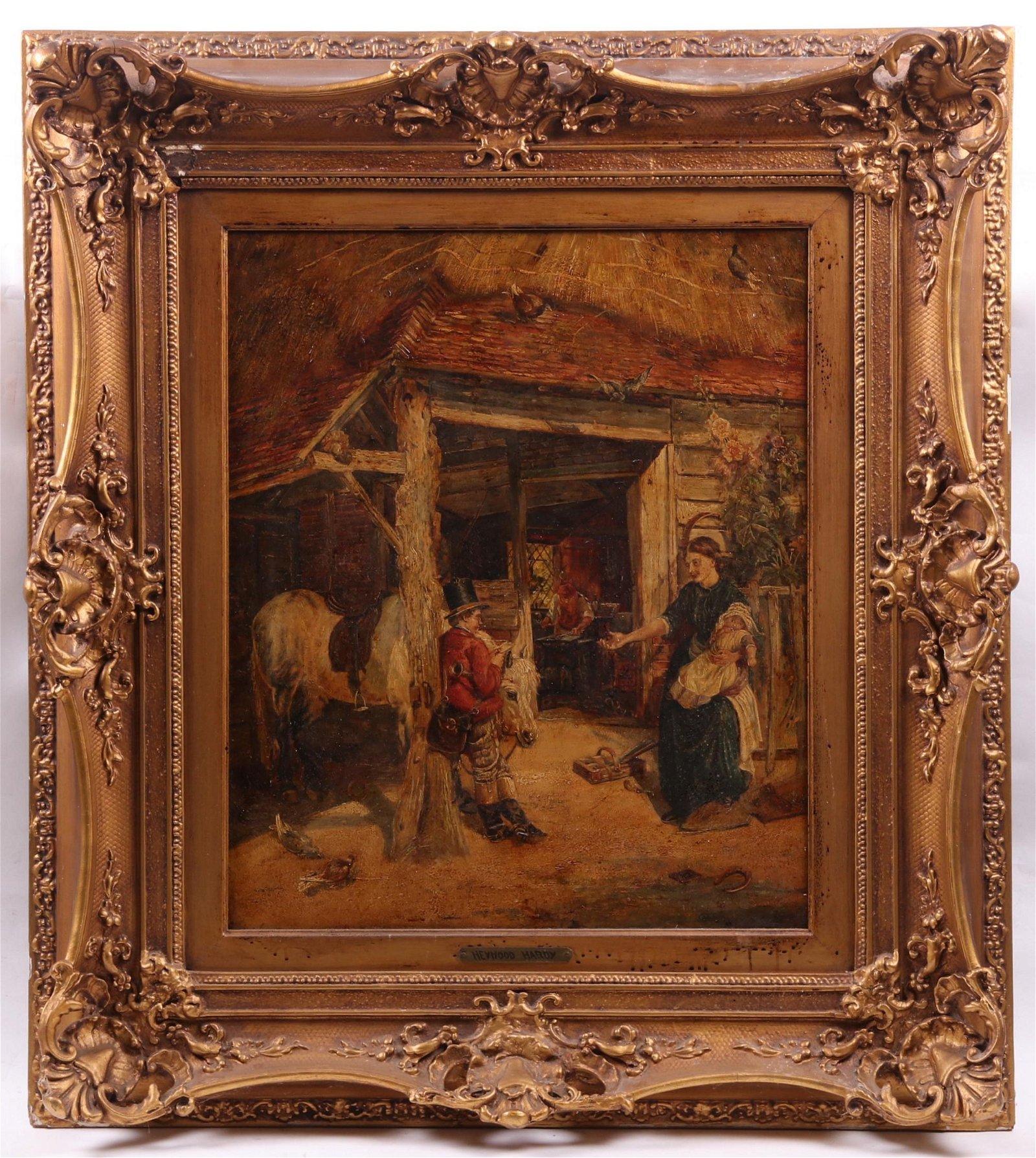 Att: Heywood Hardy (British 1843-1933) Oil on Canvas