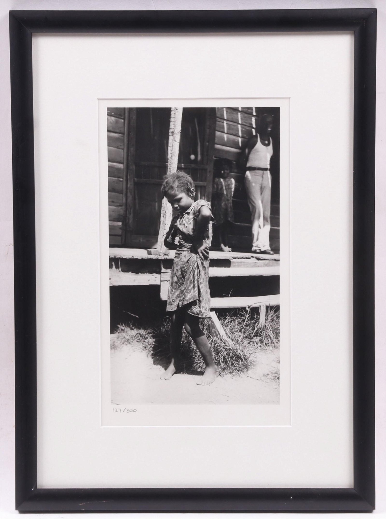 After Eudora Welty Photograph, Girl