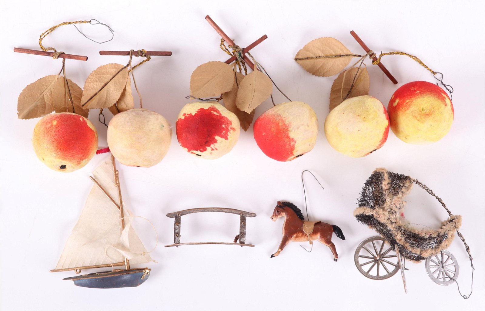 A Group of German Christmas Ornaments