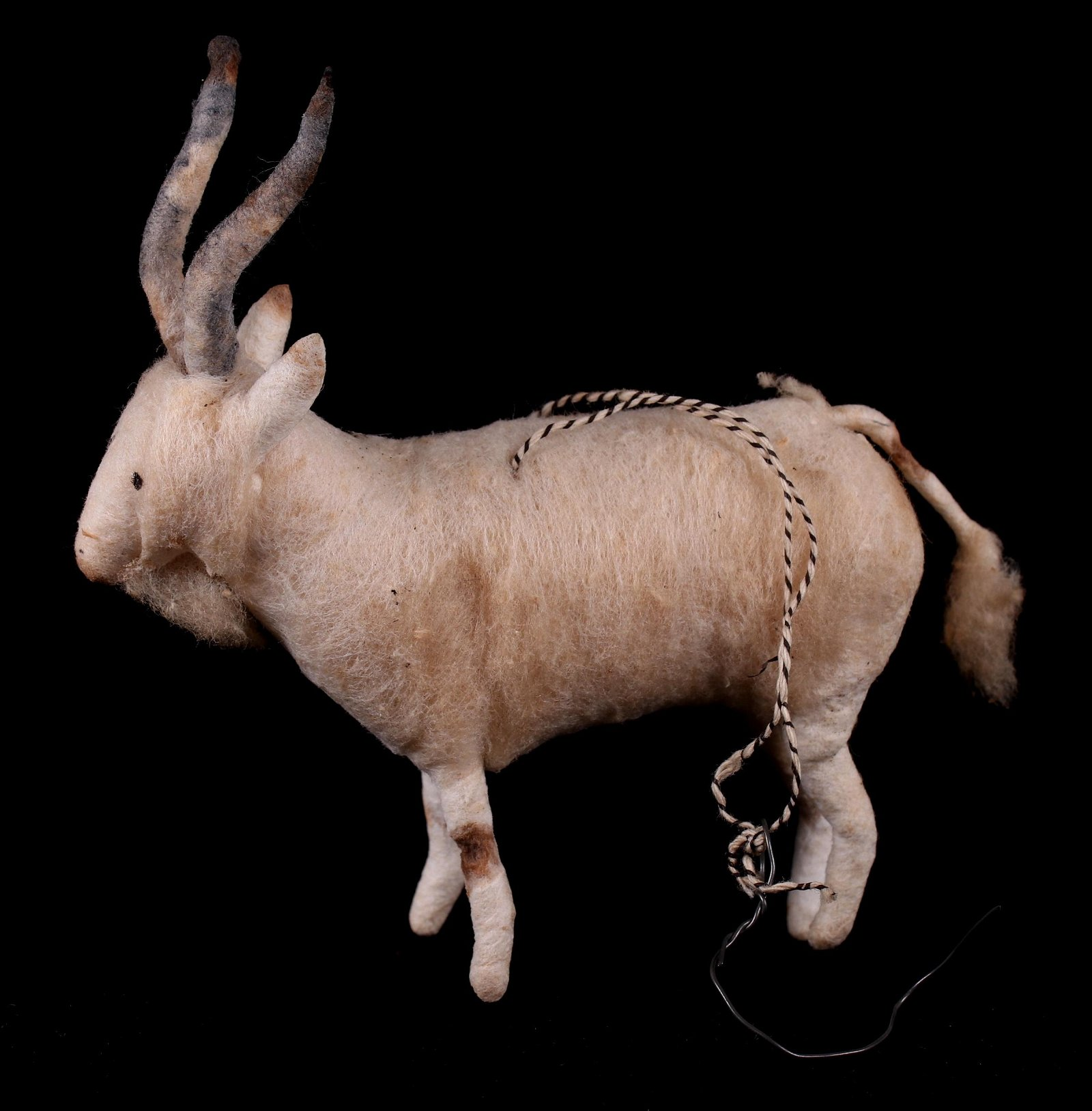 A German Christmas Ornament, Goat